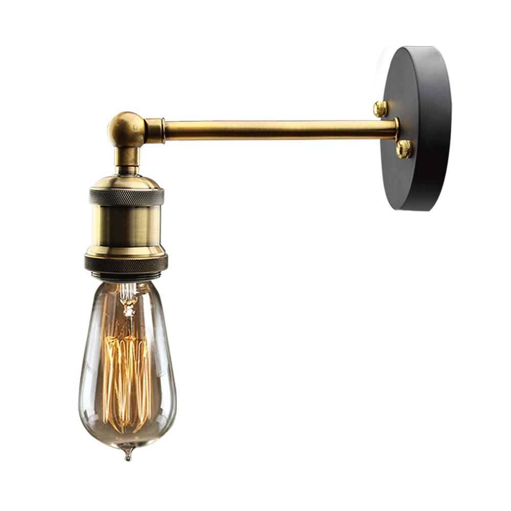 Lnc 1 Light Bronze Adjustable Arm Wall Sconce A02231 The