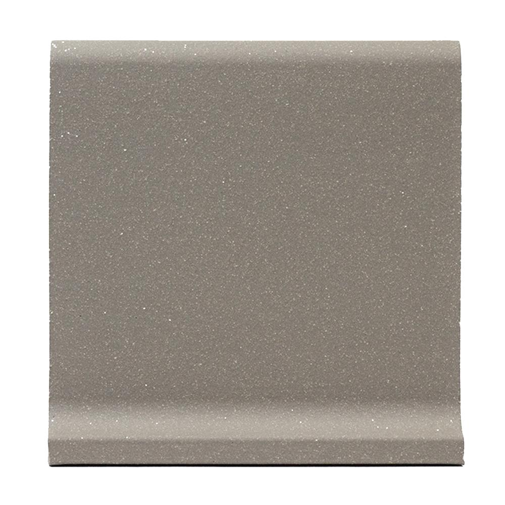 Grey Quarry Cove Base 6 in  x 6 in  Ceramic Floor and Wall Tile (3 5 sq   ft  / case)