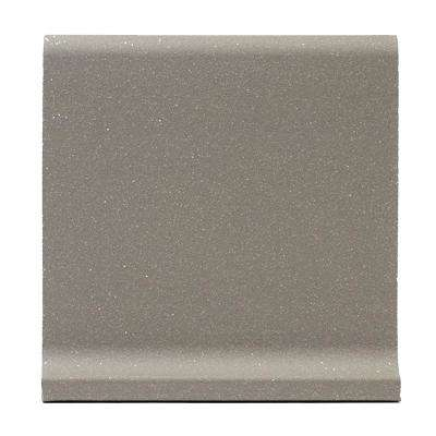 Grey Quarry Cove Base 6 in. x 6 in. Ceramic Floor and Wall Tile (3.5 sq. ft. / case)
