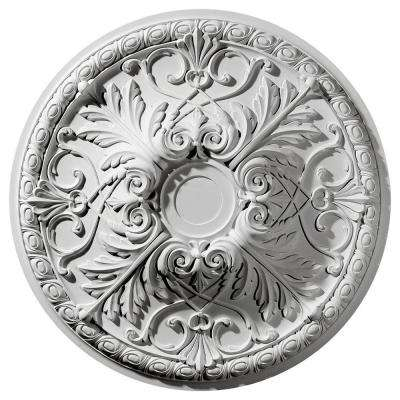 32-3/8 in. O.D. x 4-1/8 in. I.D. Tristan Ceiling Medallion