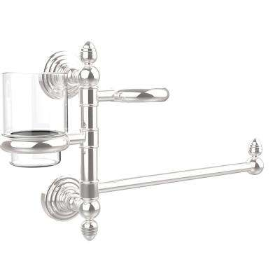 Prestige Skyline Collection Hair Dryer Holder and Organizer in Polished Chrome