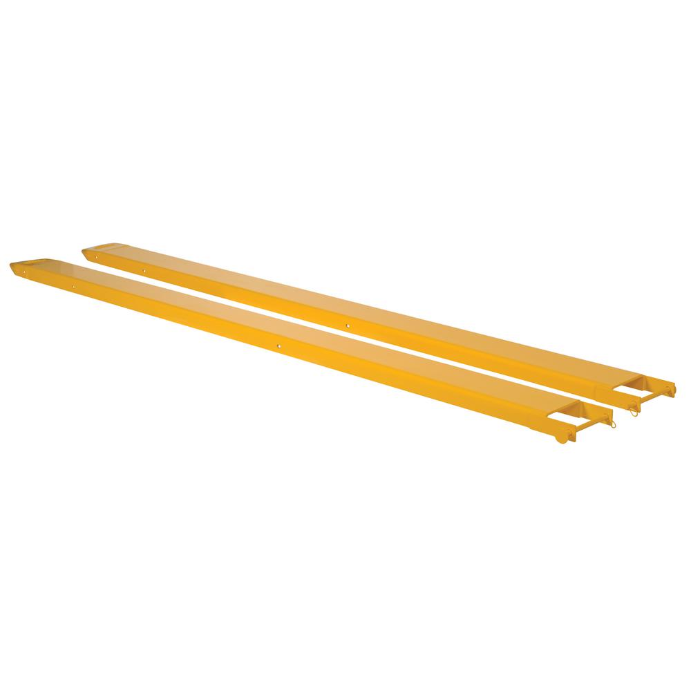108 in. x 6 in. Pin Style Pair of Fork Extensions