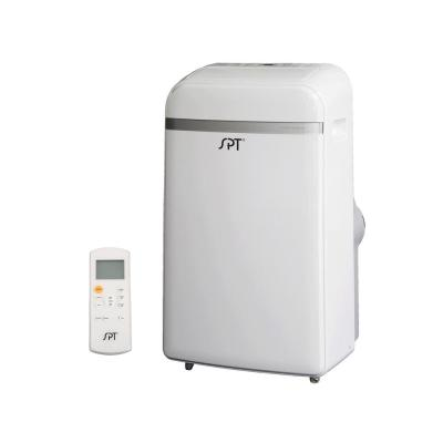 12,000 BTU Dual-Hose System Portable Air Conditioner with Dehumidifier