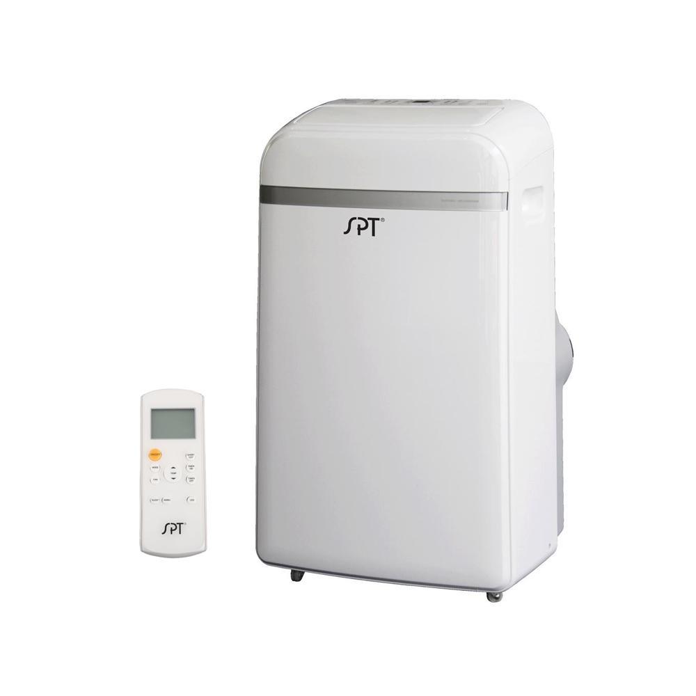 12,000 BTU Dual-Hose System Portable Air Conditioner with Dehumidifier
