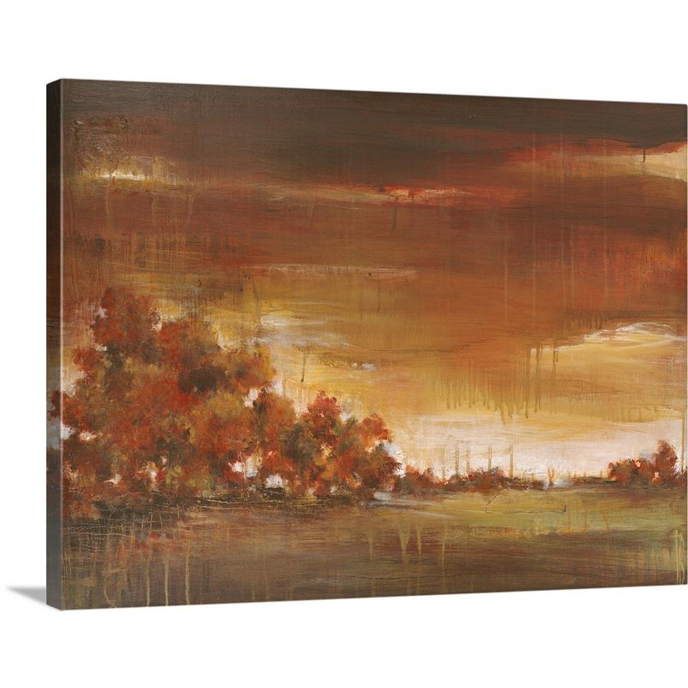 """Memory Tree"" by Terri Burris Canvas Wall Art"