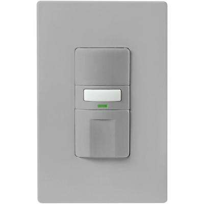 Motion-Activated Occupancy Sensor Wall Switch, Gray