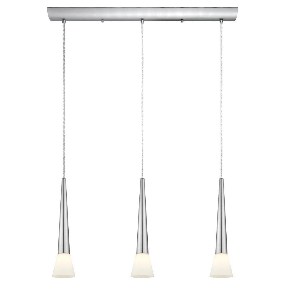 Eglo Legnano 3-Light Matte Nickel Multi-Light Pendant