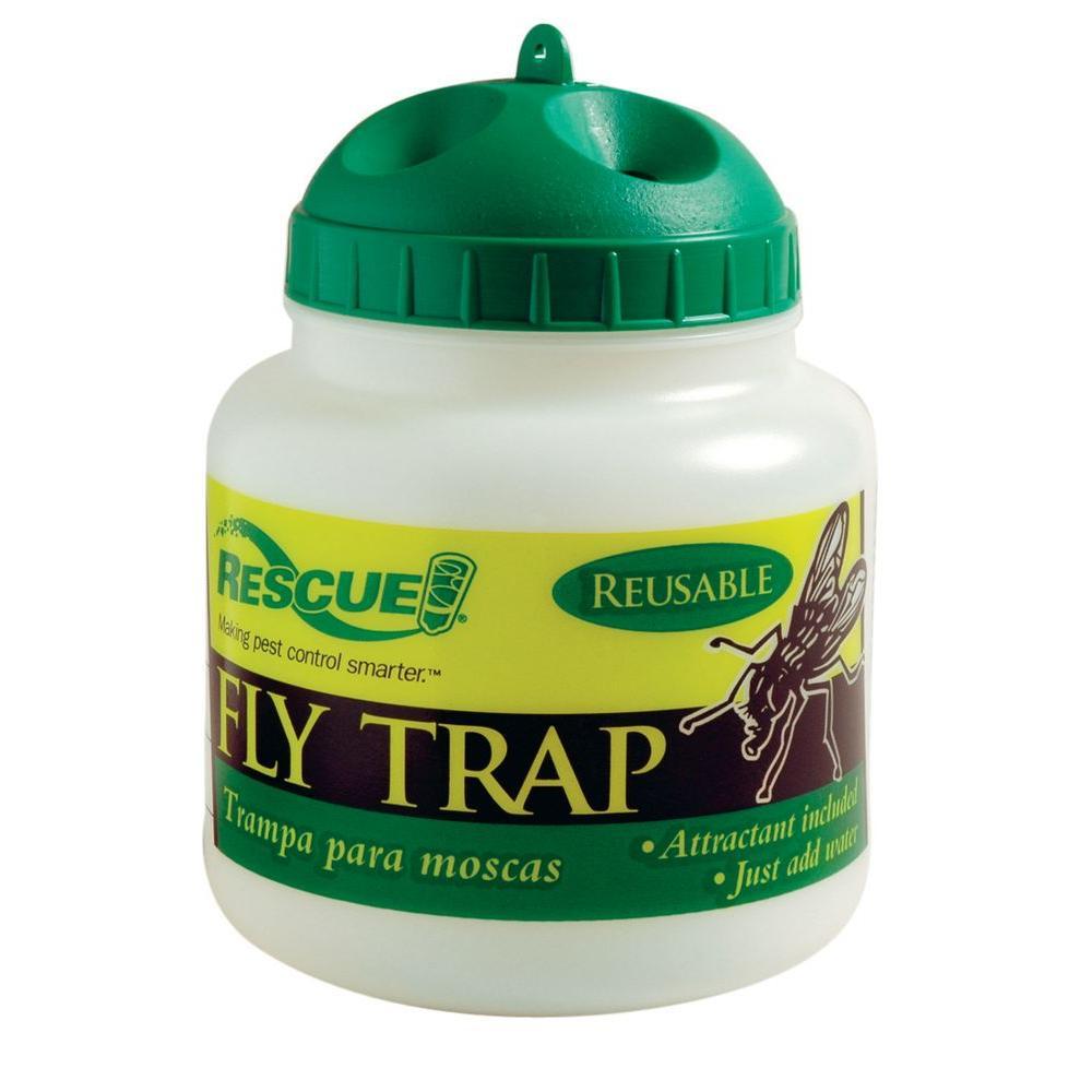 RESCUE Reusable Fly Trap-FTR-SF4 - The Home Depot
