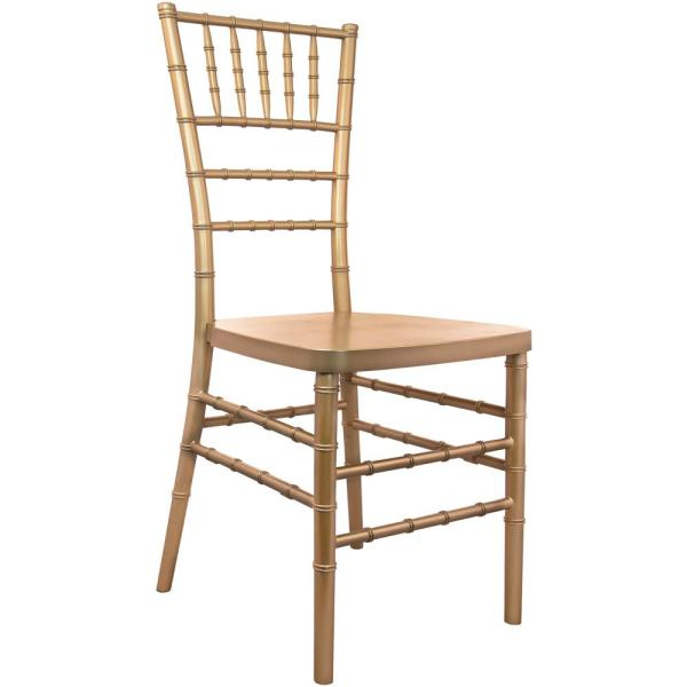 Advantage Gold Resin Chiavari Chair (20-Pack)