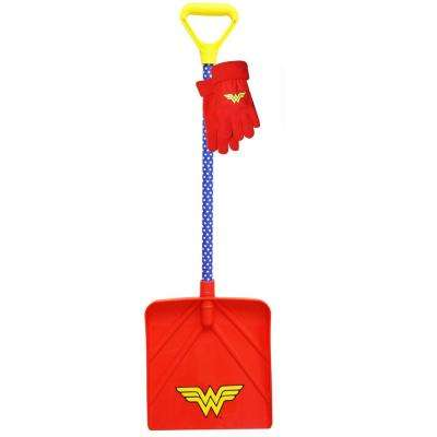 Kids Wonder Woman Snow/Glove Combo