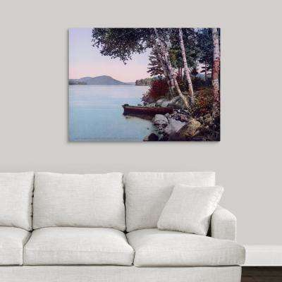 """""""Along the Shore Concordia Bay Lake George N.Y"""" by  The Henry Ford Canvas Wall Art"""