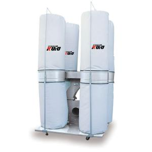Kufo Seco 10 HP 6,450 CFM 3-Phase 220-Volt / 440-Volt Vertical Bag Dust Collector... by Kufo Seco