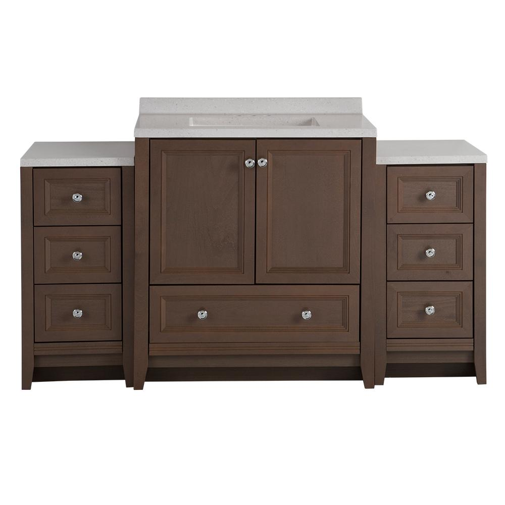 Glacier Bay Delridge Bath Suite With 30 5 In Vanity Top And 2
