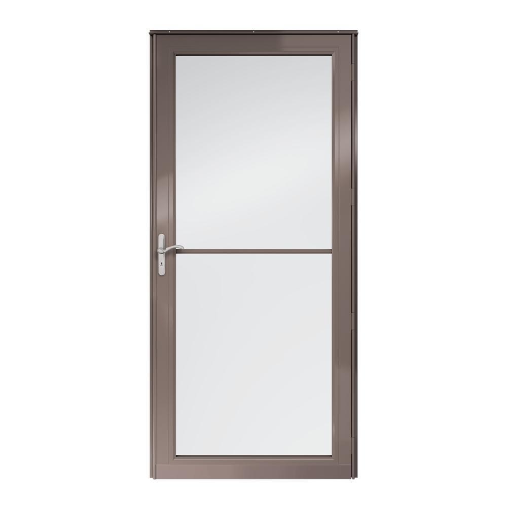 3000 Series Full View Retractable Aluminum Storm Door