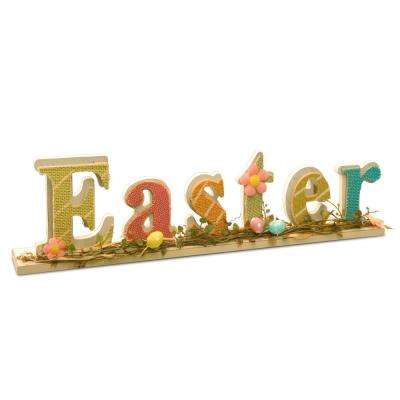 18 in. Easter Sign