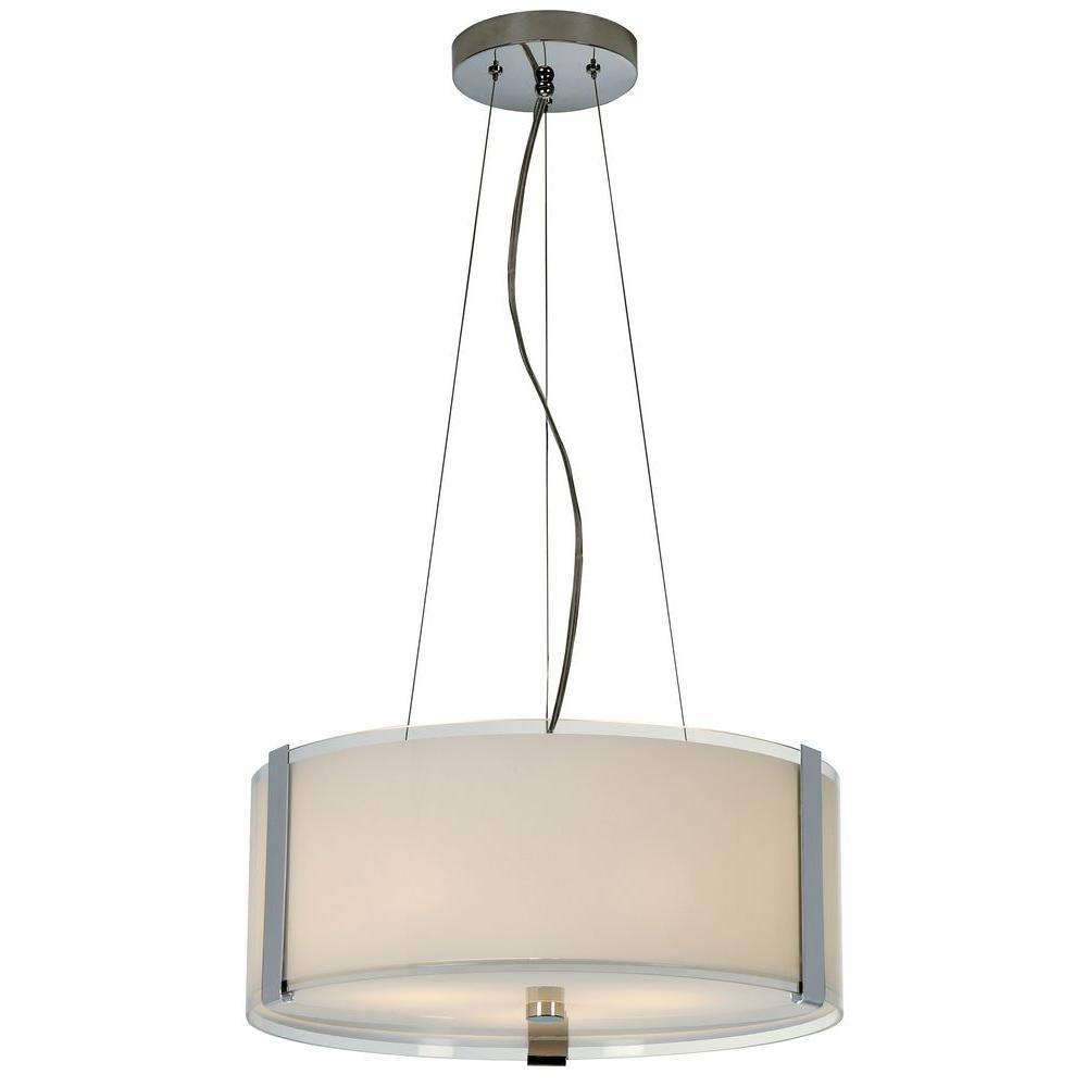 Trend Lighting Pique 3-Light Pearl Ceiling Fixture