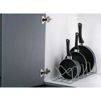 Grey Pot and Pan Organizer
