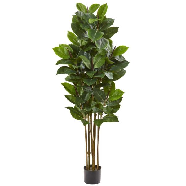 58 in. Rubber Leaf Artificial Tree