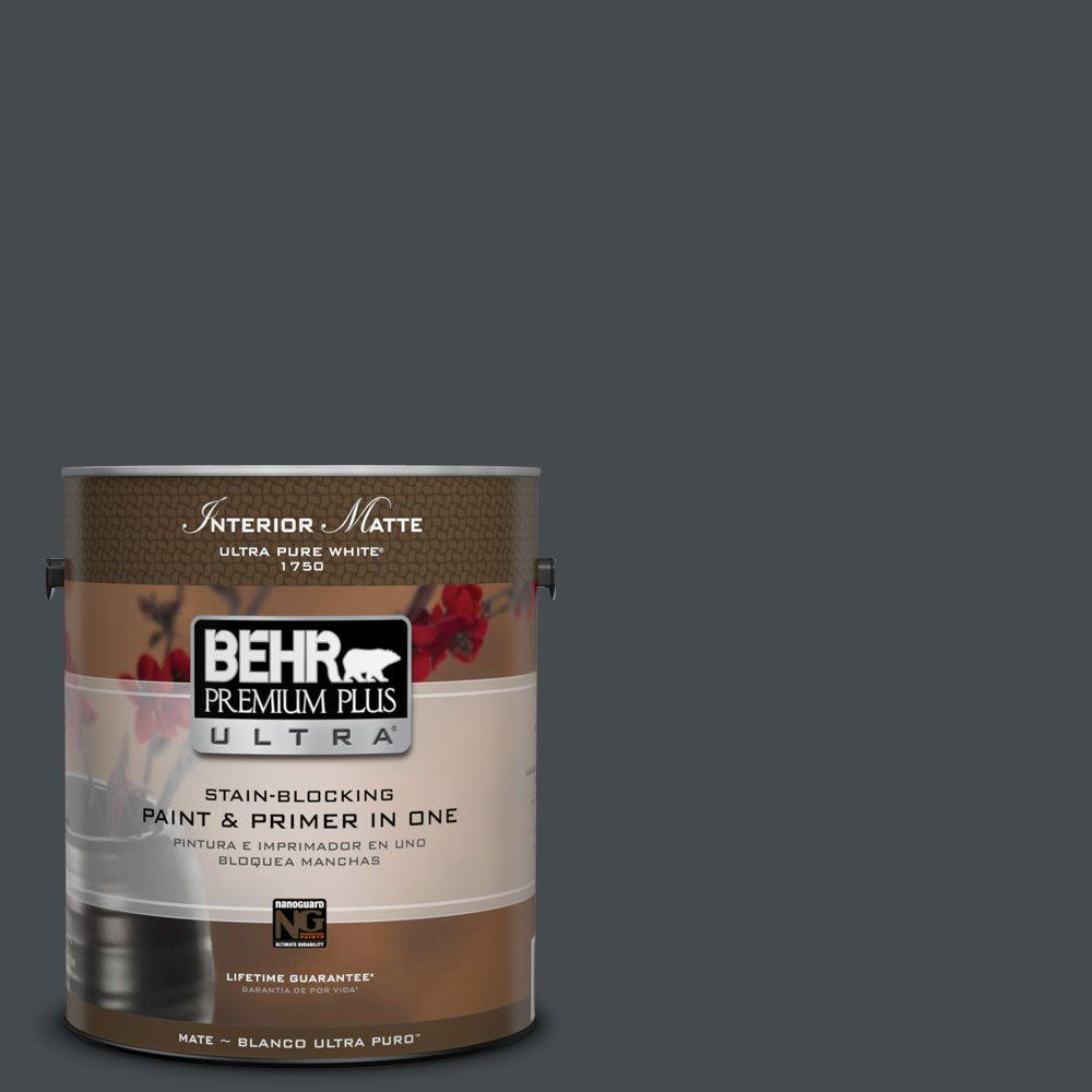 BEHR Premium Plus Ultra Home Decorators Collection 1 gal. #HDC-WR14-4 Winter Coat Flat/Matte Interior Paint