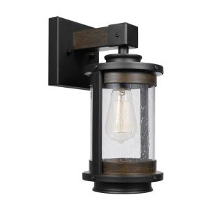 Globe Electric Williamsburg 1-Light Dark Bronze Sconce by Globe Electric