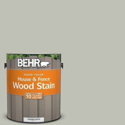 1 gal. #ECC-37-1 Arbor Hollow Solid Color House and Fence Exterior Wood Stain