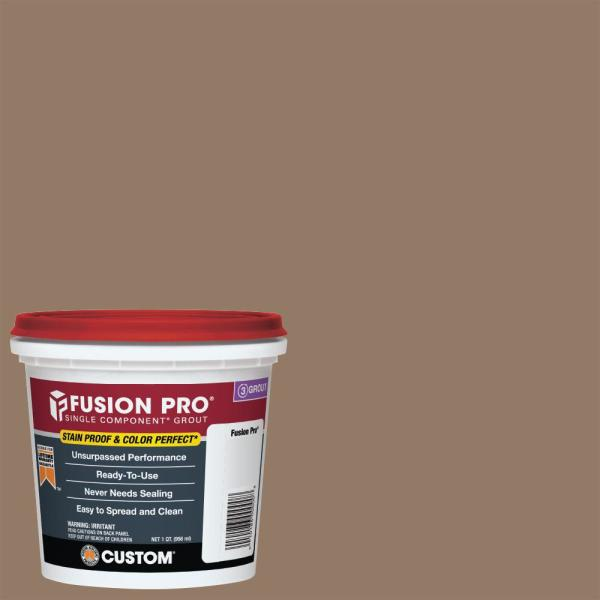 Fusion Pro #105 Earth 1 Qt. Single Component Grout