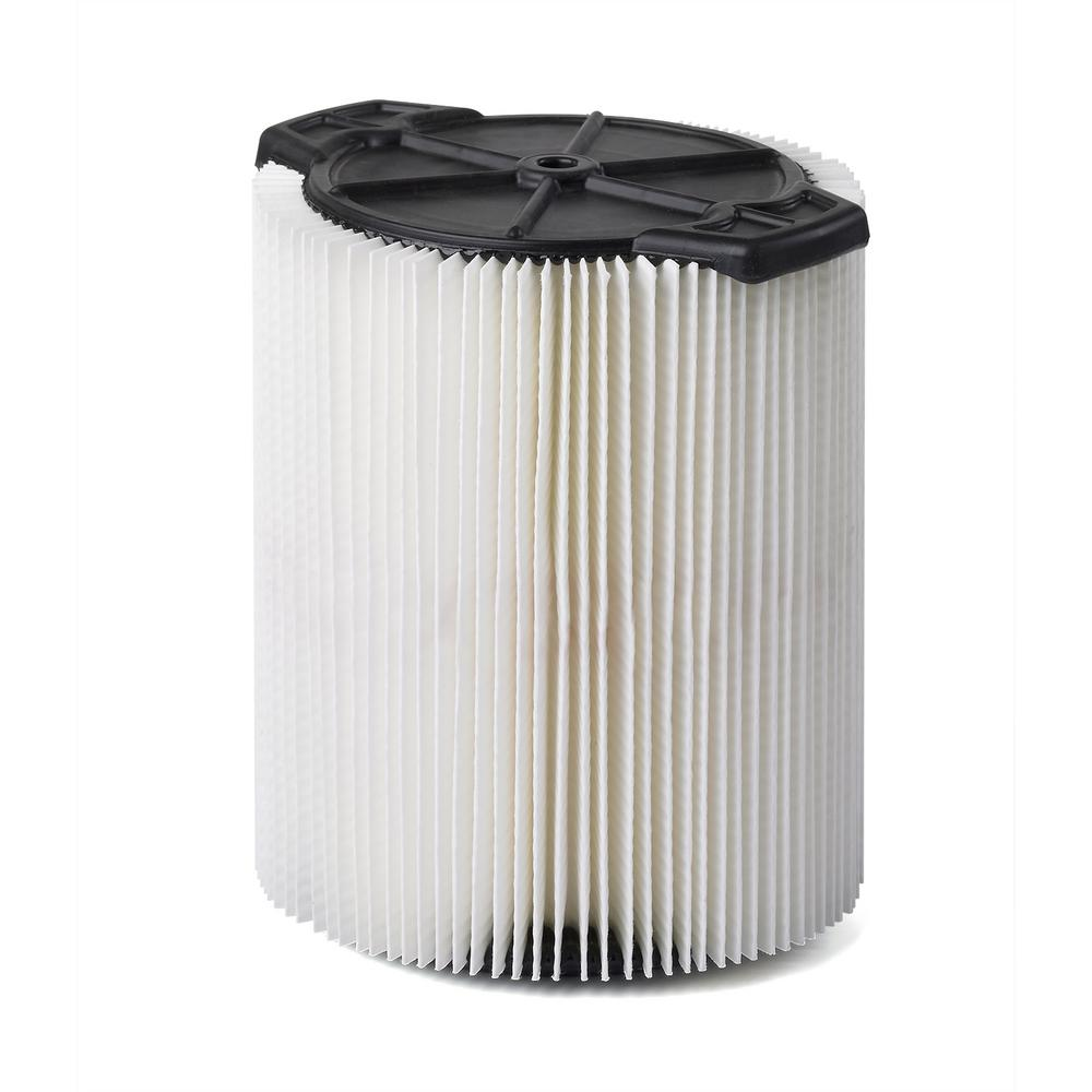 Multi-Fit Cartridge Filter for 5 0 Gal  to 20 0 Gal  Craftsman Wet Dry Vacs