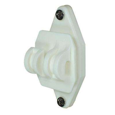White Wood Post Nail on Insulator for Hi-Tensile (100-Pack)