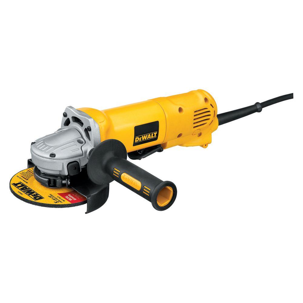 DEWALT 10-amp 4-1/2 in. Small Angle Grinder