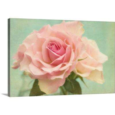 """Shabby Chic Rose"" by  Cora Niele Canvas Wall Art"