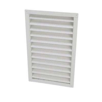 14 in. x 24 in. Aluminum Gable Mount/Wall Vent