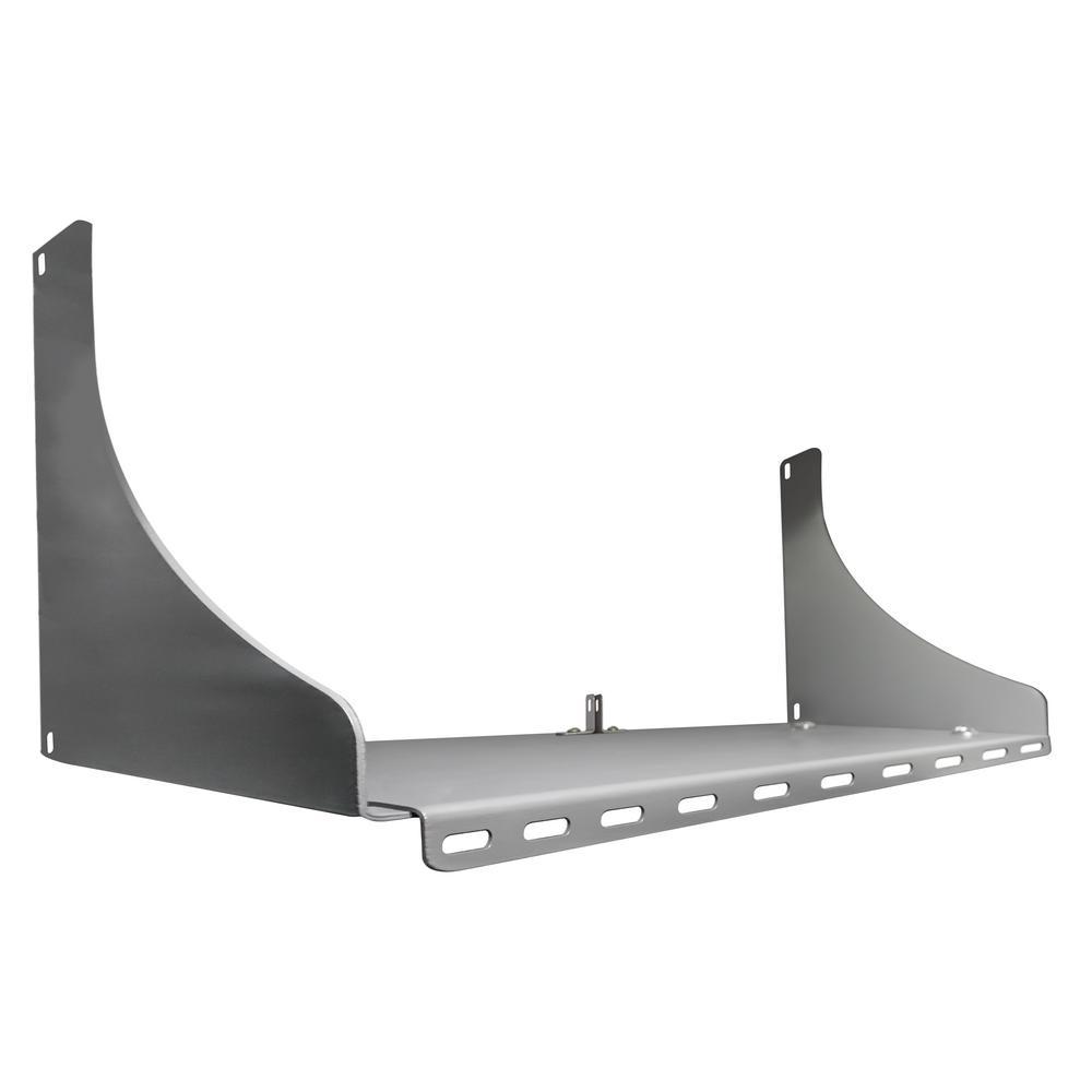 ESP Grey Steel Double Panel Storage Shelf