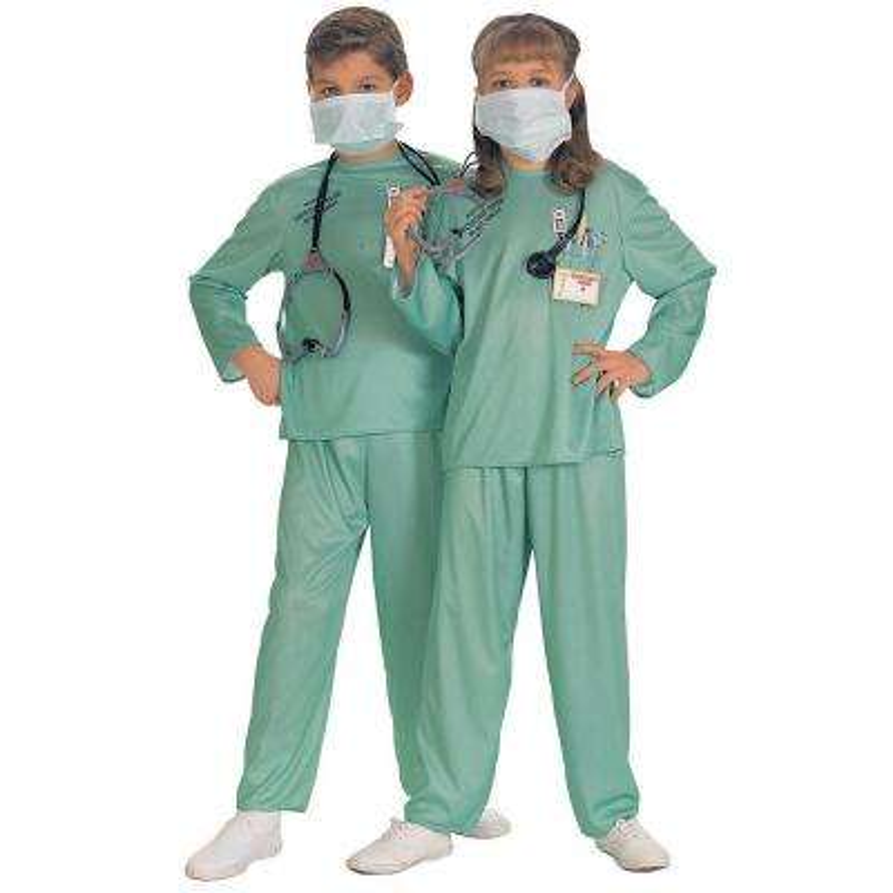ER Unisex Individual Doctor Child Costume