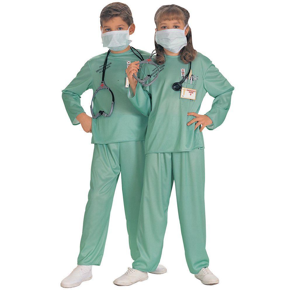 Medium Unisex ER Doctor Kids Costume