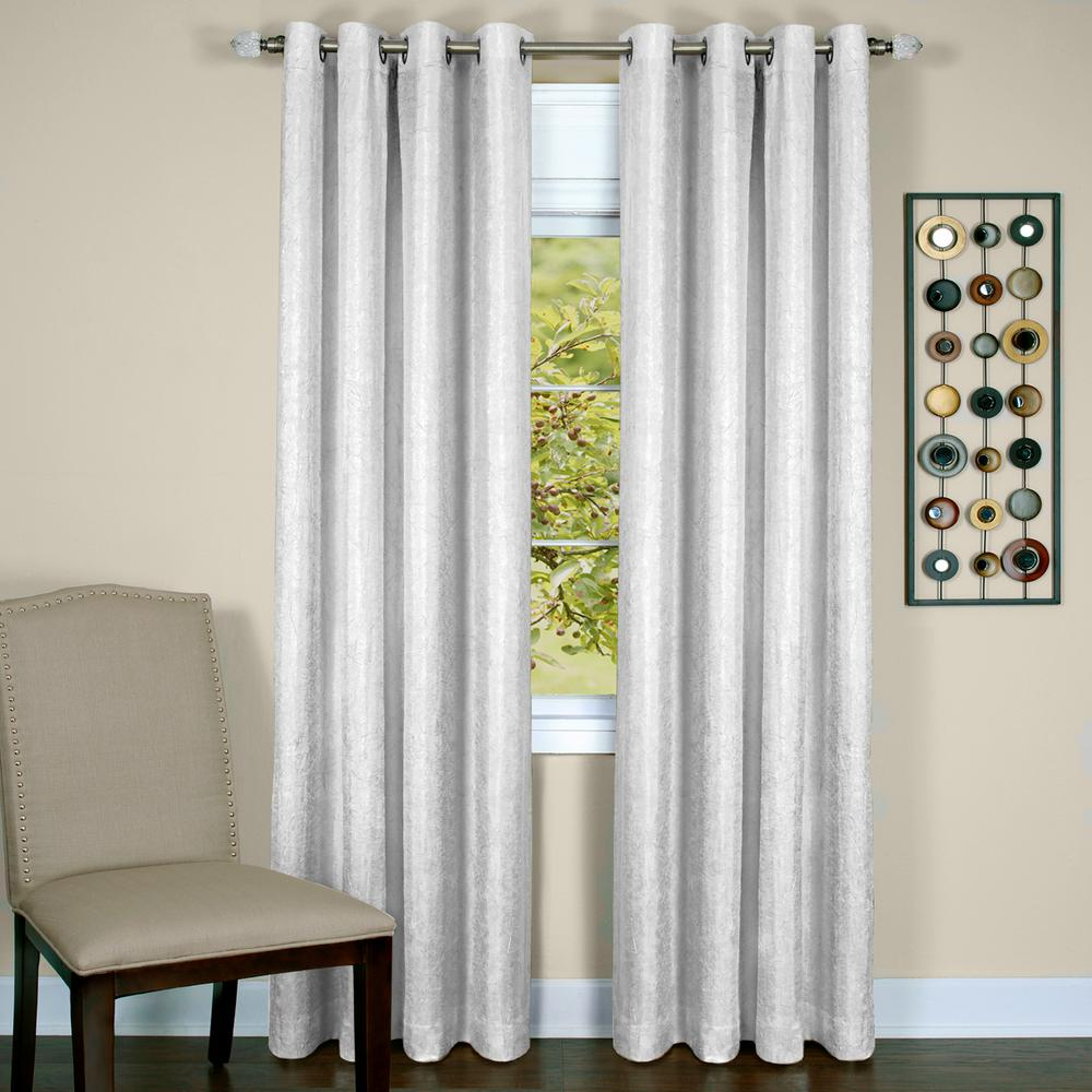 Achim Taylor White Polyester Lined Grommet Panel