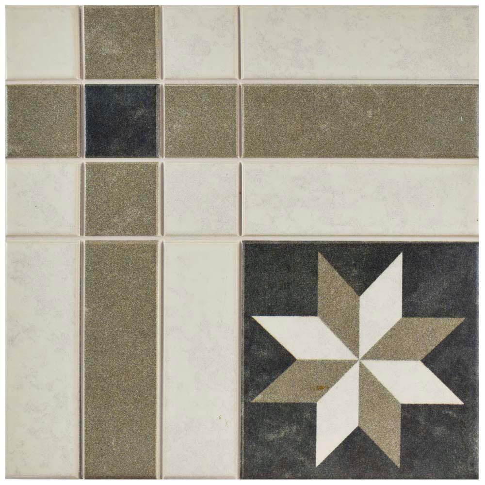 Merola Tile Century Antebellum 9 3 4 In X