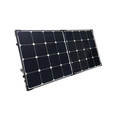 100-Watt 12-Volt Monocrystalline Foldable Solar Panel Suitcase