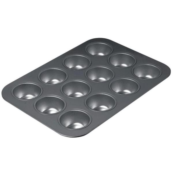 16612 12-Cup Chicago Metallic Non Stick Muffin Pan 39813805