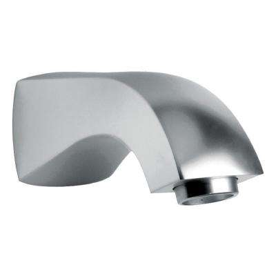Lady Tub Spout in Brushed Nickel