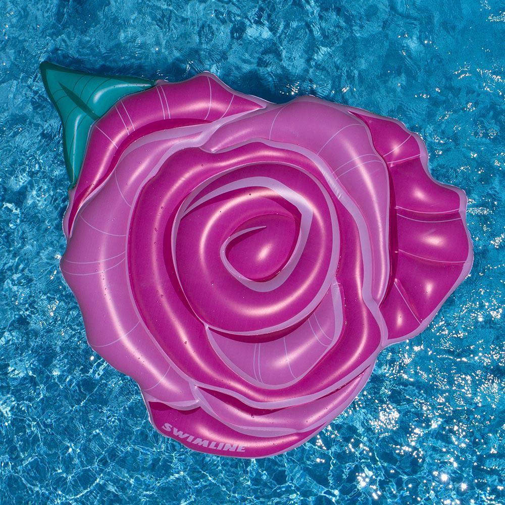 Swimline Rose Flower Float Pool Float
