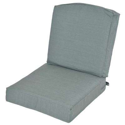 Oak Cliff Surplus Replacement 2 Piece Deep Seating Outdoor Lounge Chair  Cushion