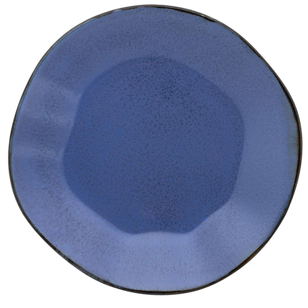 Manhattan Comfort 11.02 in. RYO Blue Dinner Plates (Set of 12) was $189.99 now $121.38 (36.0% off)