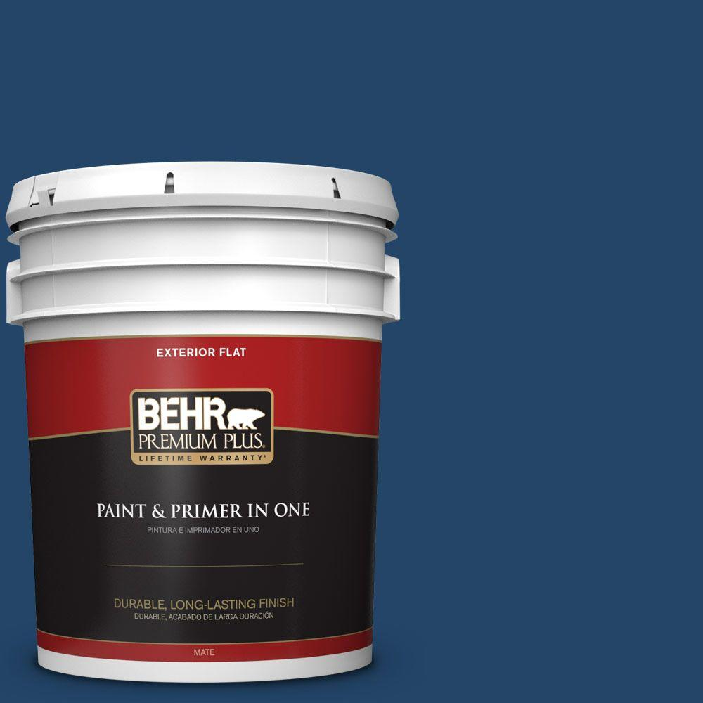 5-gal. #PPF-57 Lake View Flat Exterior Paint