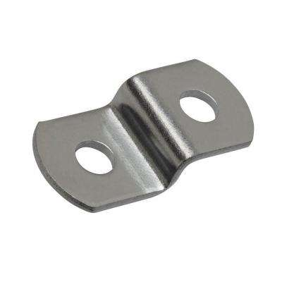 1/4 in. Zinc-Plated Offset Mirror Clips (2-Piece)