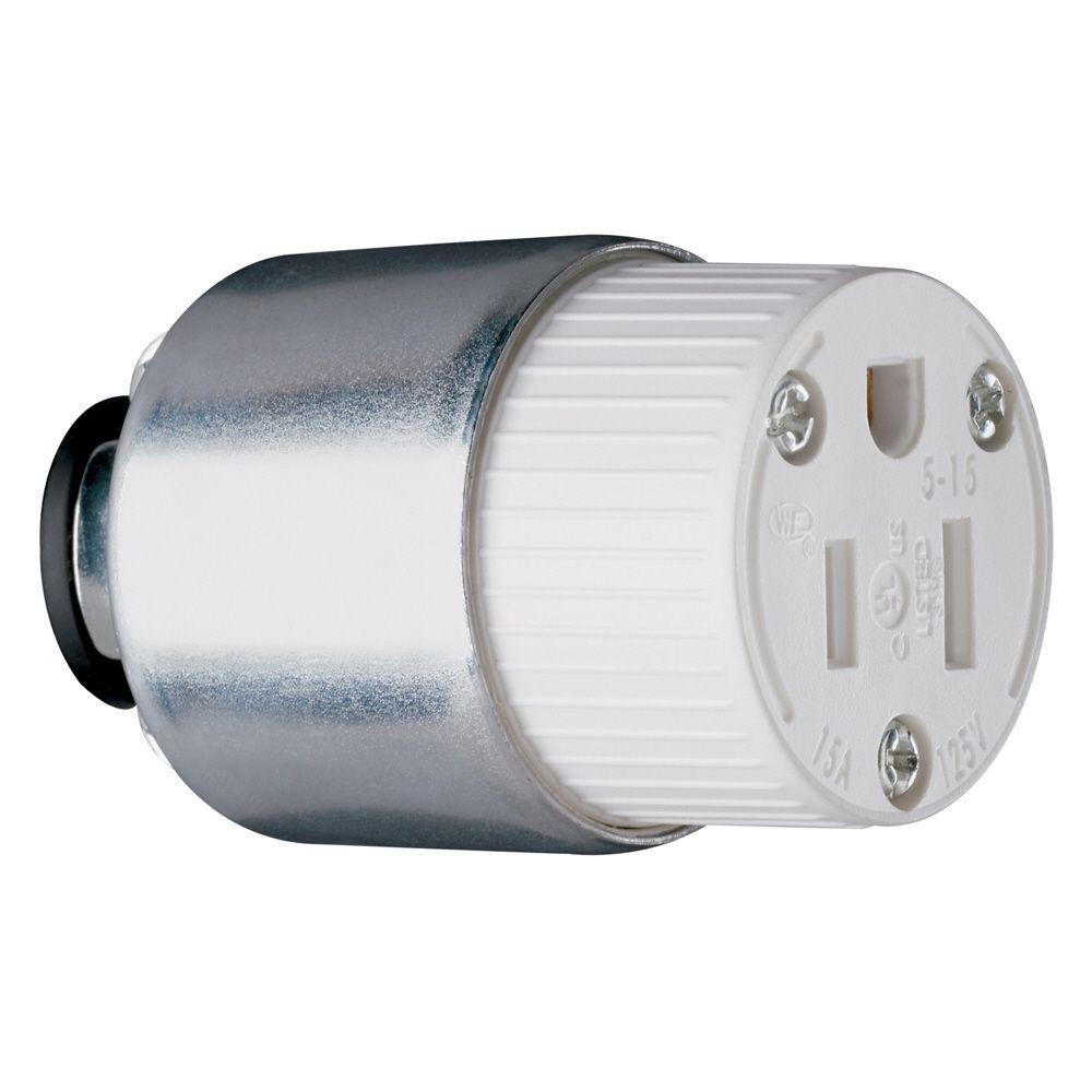 Pass & Seymour 15-Amp 125-Volt Armored Connector
