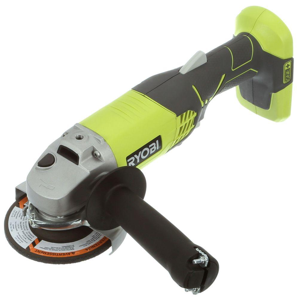 Ryobi 18-Volt ONE+ 4-1/2 in. Angle Grinder (Tool-Only)