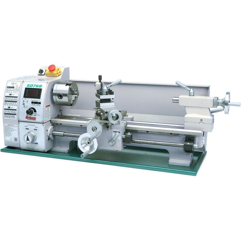 Cool Grizzly Industrial 8 In X 16 In Variable Speed Lathe Ncnpc Chair Design For Home Ncnpcorg