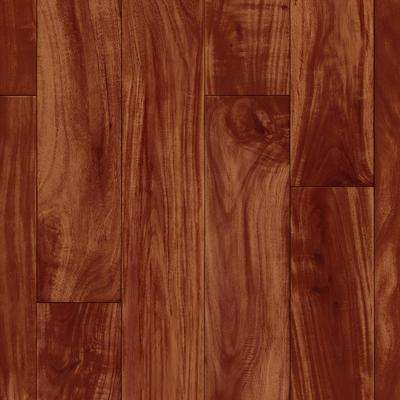 Acacia Plank Redwood 13.2 ft. Wide x Your Choice Length Residential Vinyl Sheet Flooring
