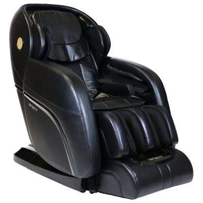 Infinity Presidential Black Massage Chair  sc 1 st  The Home Depot : cheap black leather chairs - Cheerinfomania.Com