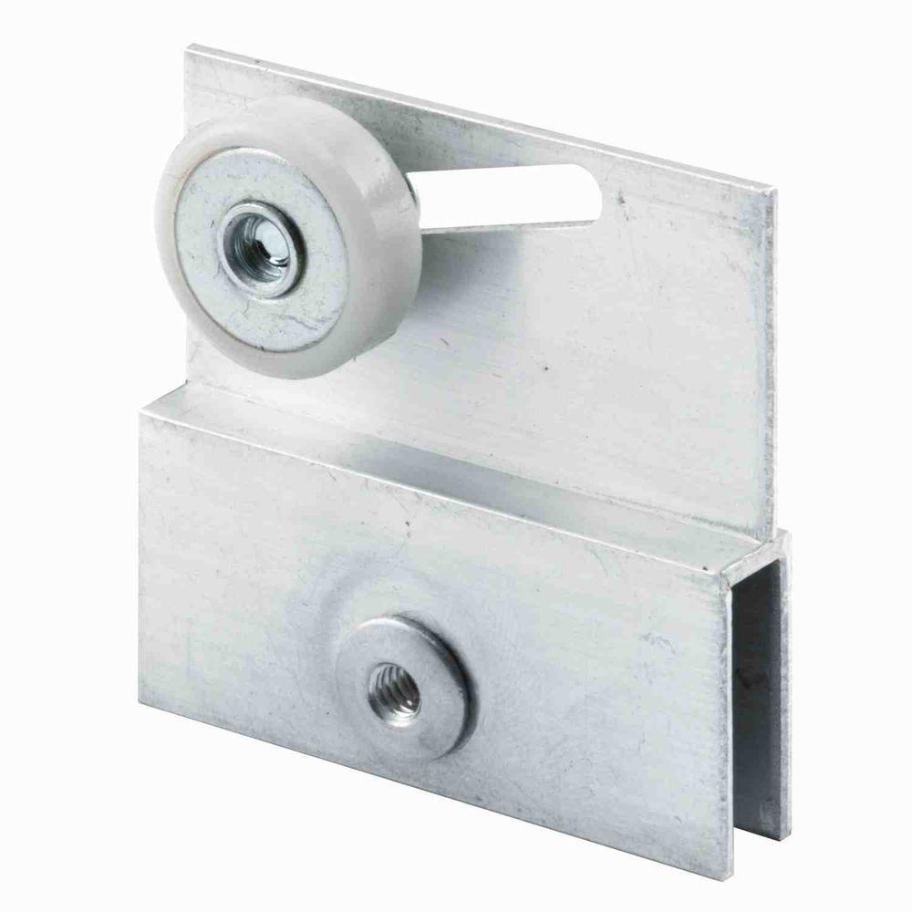Prime Line Aluminum Roller Bracket For Sliding Frameless Shower